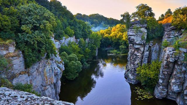 Букский каньон - природное чудо Украины