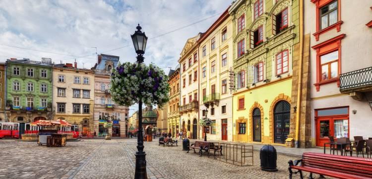 Площадь Старый Рынок во Львове