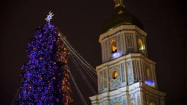 Відкриття новорічної ялинки у Києві